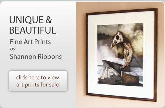 Digital Fine Art Prints by Shannon Ribbons