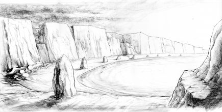 The Sentinel Bay sketch